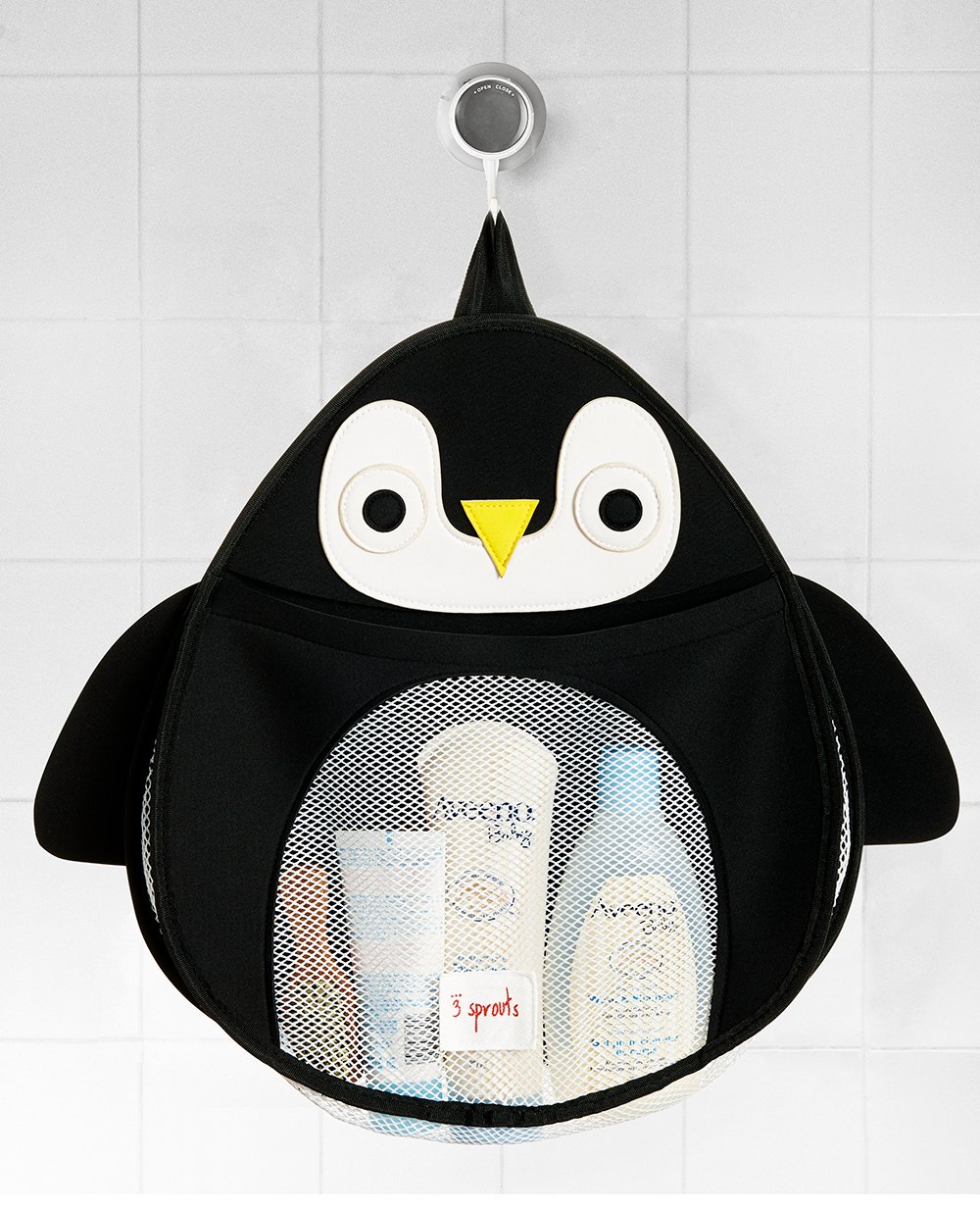 3 Sprouts bath storage pinguin