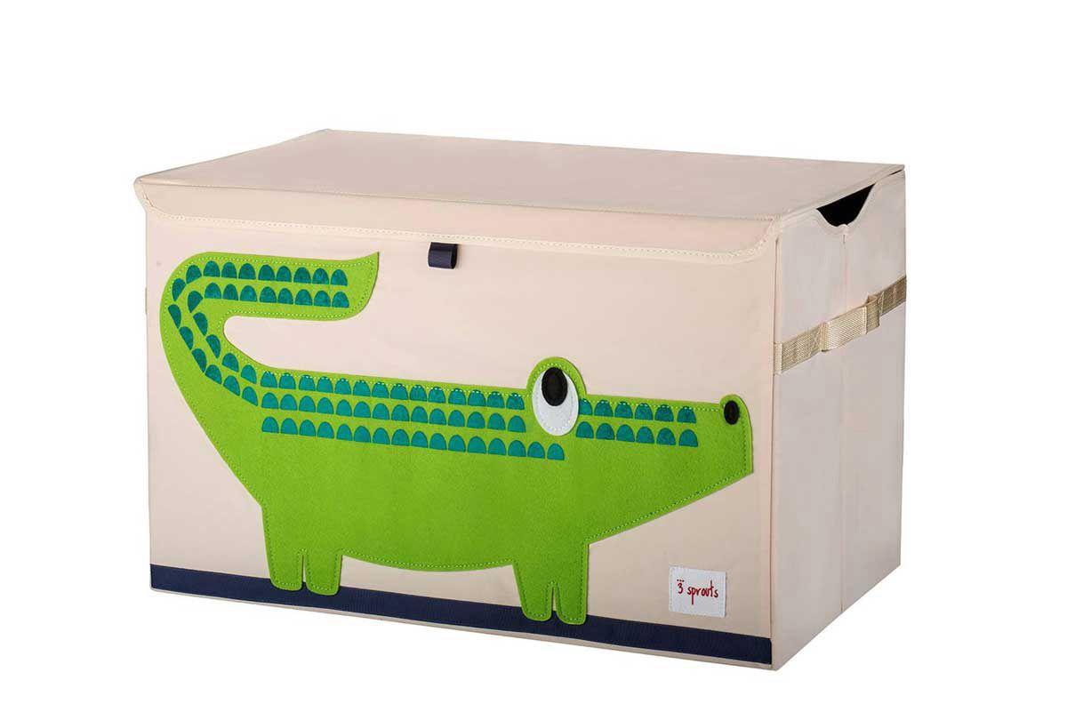 3 Sprouts Speelgoedkoffer krokodil