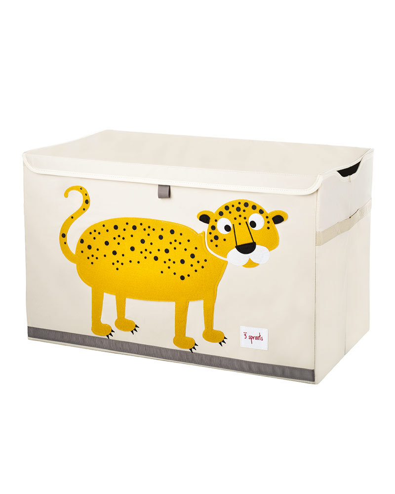 3 Sprouts Speelgoedkoffer luipaard