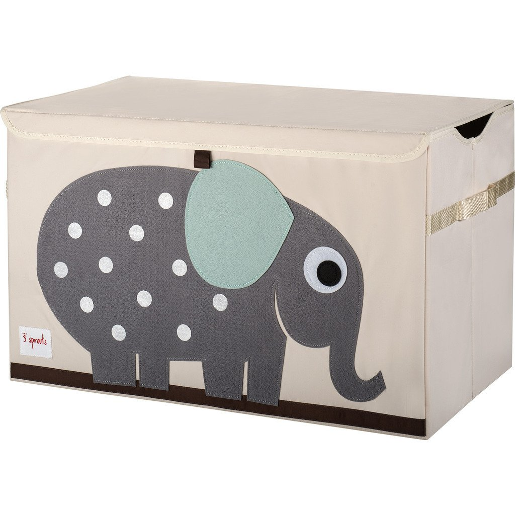 3 Sprouts Speelgoedkoffer olifant