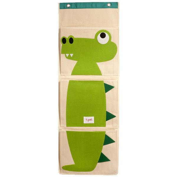 3 Sprouts wall organiser crocodile