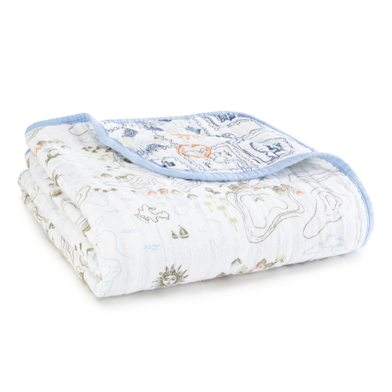 Aden & Anais dream blanket organic warrior finn