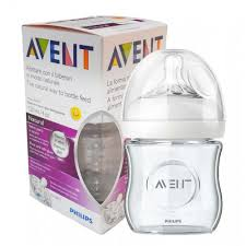 Avent natural zuigfles glas 120ml