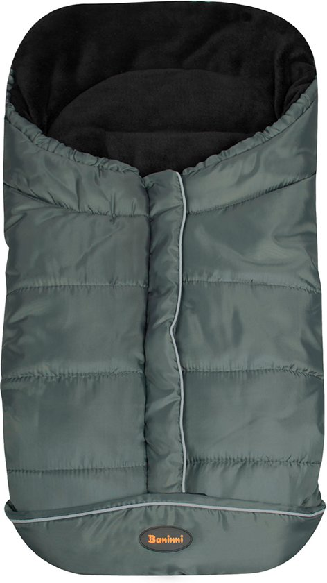BANINNI Universele voetenzak Caldo luxe grijs/zwart