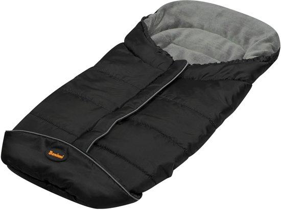 BANINNI, universele voetenzak Luxe Caldo zwart/grijs