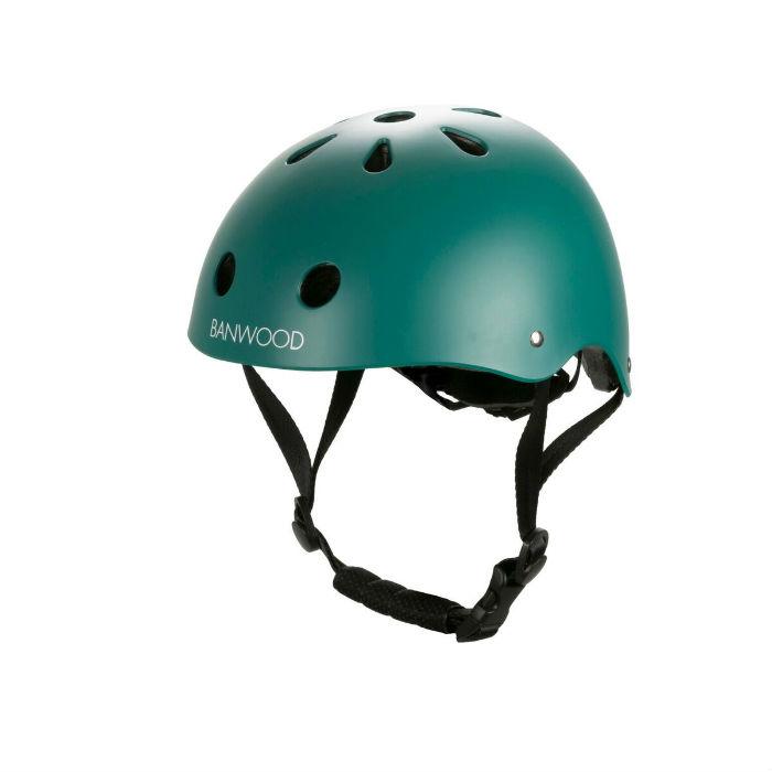 Banwood classic helmet matte green