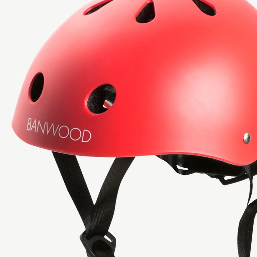 BANWOOD Fietshelm rood