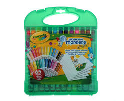 Crayola mini washable markers  paper set
