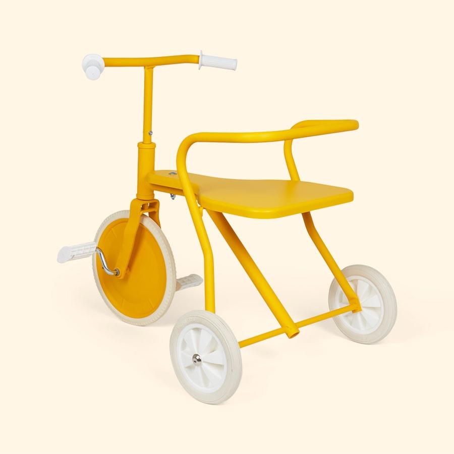 Foxrider driewieler geel