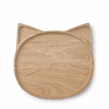 Liewood bord hout cat