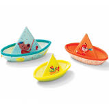 Lilliputiens Badspeelgoed 3 bootjes