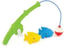 Munchkin fishing bath toy