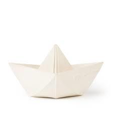 OLI & CAROL origami boat white