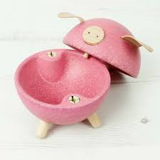 PLAN TOYS Spaarvarken roze