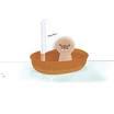 Plan toyssailing board walrus