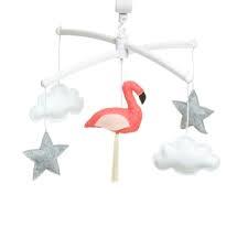 pouce et lina mobiel flamingo coral