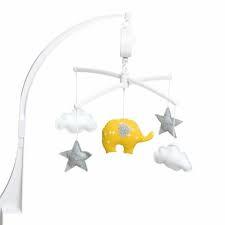 pouce et lina mobiel olifant geel