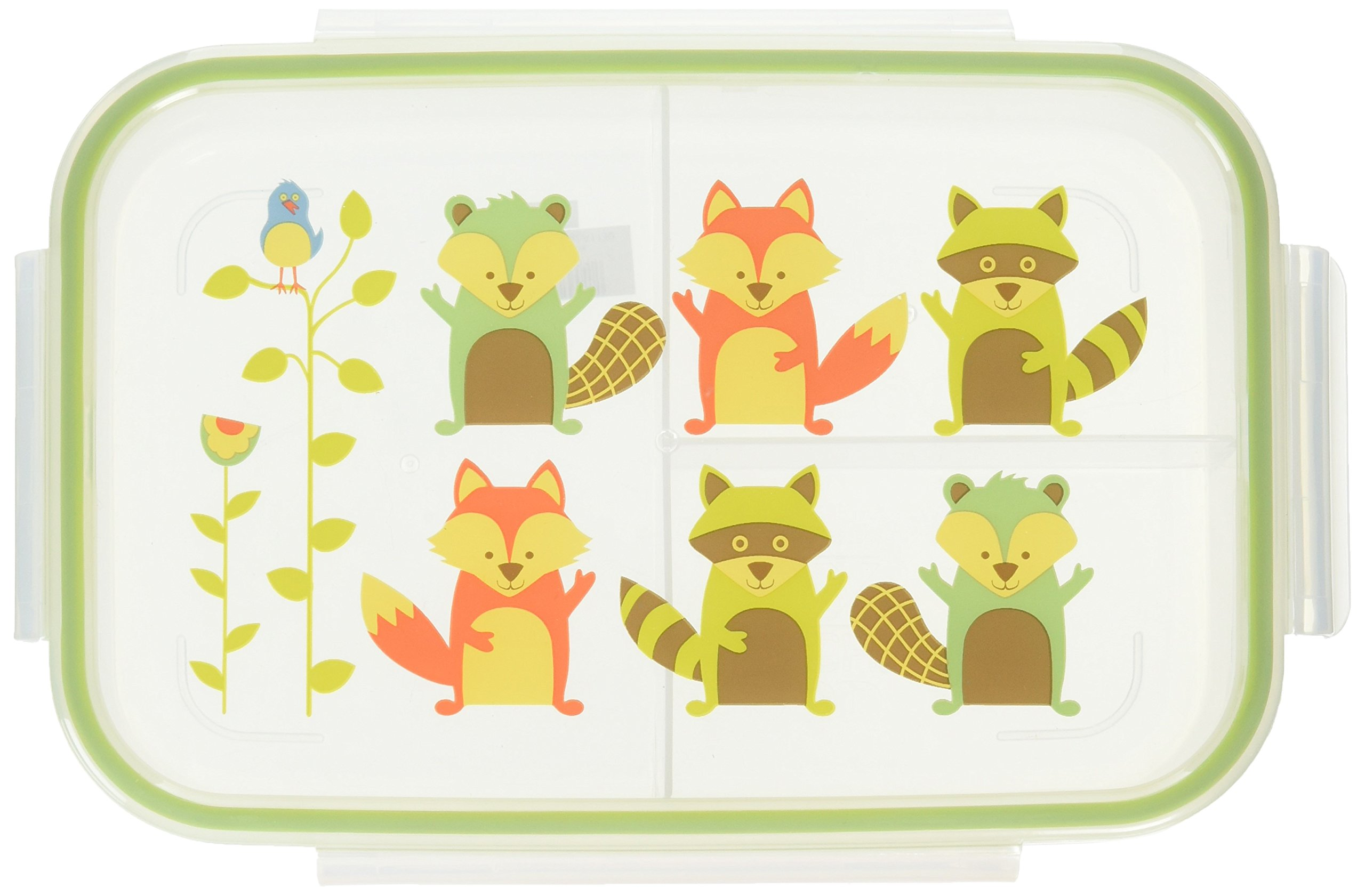 SUGAR BOOGER Good lunch bento box WHAT DID THE FOX EAT