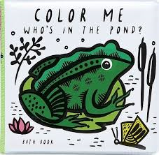 WEE GALLERY colour me who's in the pond