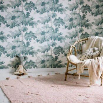 Washable rug Hippy Stars vintage nude | Lorena Canals